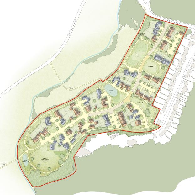 The planned Esquire Developments in Upnor