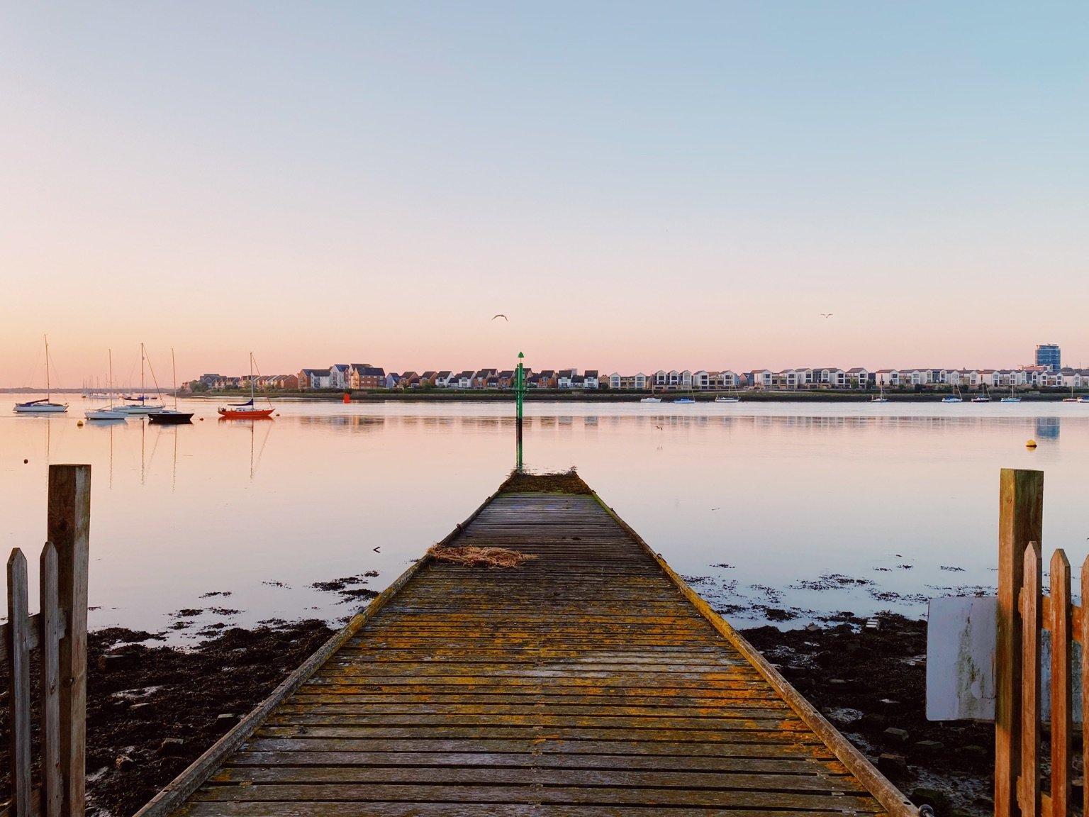 Upnor pier