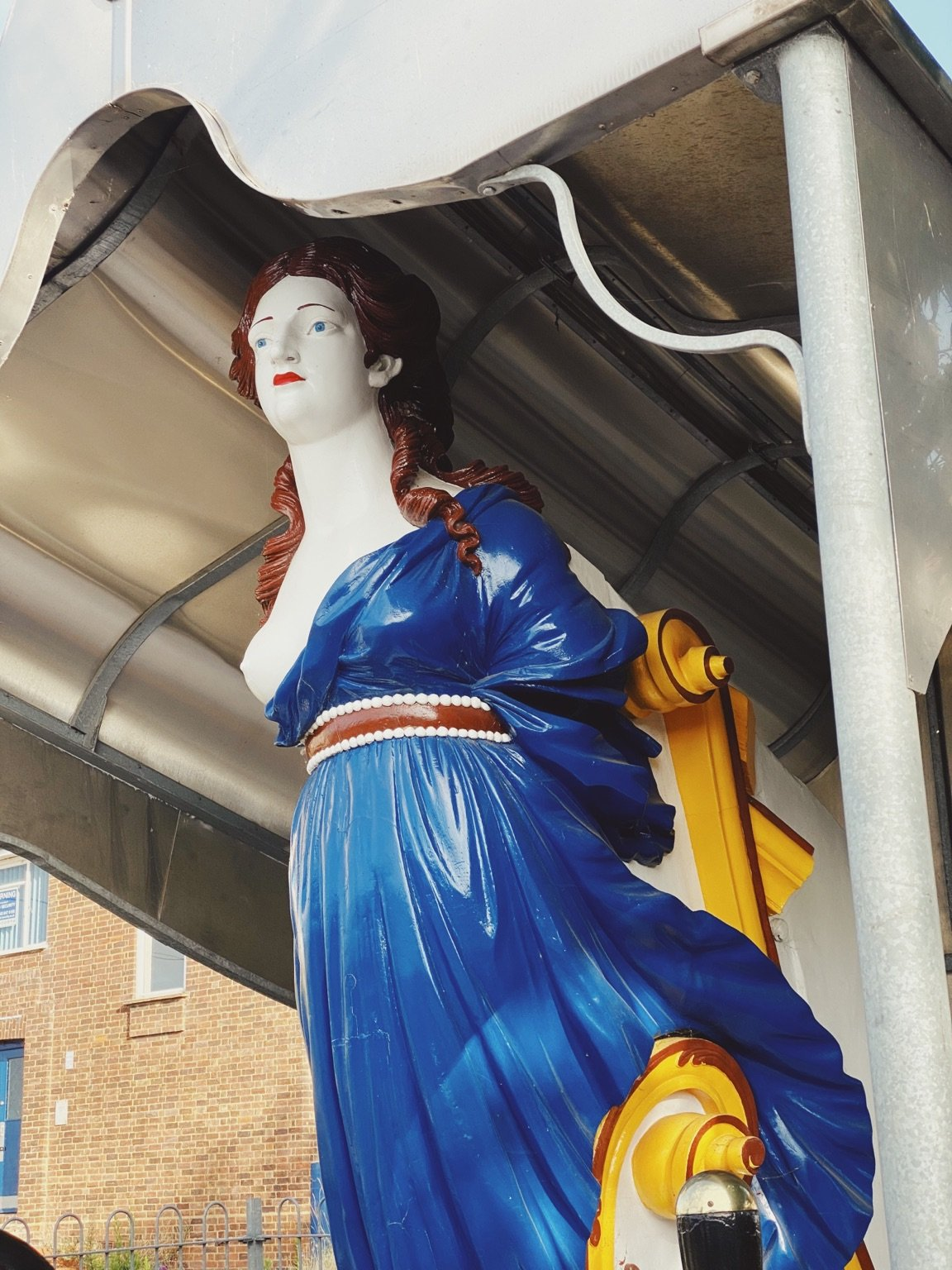 upnor statue
